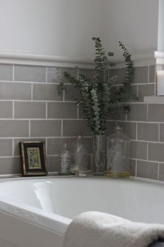 Subway tiles look great in kitchens! I especially like