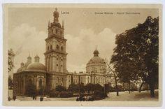 Lwów, cerkiew wołoska i kościół dominikanów 1909