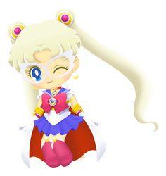 Sailor Moon Drops, Sailor Moon Stars, Sailor Chibi Moon, Sailor Moon Crystal, Moon Princess, Princess Serenity, Black Butler Anime, Old Anime, Sailor Scouts