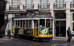 The starting point of the tram route no. 28 which will take you to beautiful areas of Lisabon, including the Barrio Alto. Us Travel, Travel Tips, Lisbon Portugal, Vacation, Beautiful, Lisbon, Vacations, Travel Advice, Holiday