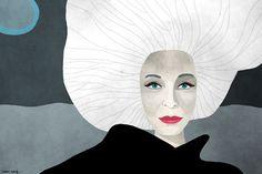Carmen Dell'Orefice by Joanna Gniady