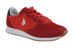 Adidas, Sneakers, Sports, Red, Tennis, Hs Sports, Slippers, Sneaker, Sport