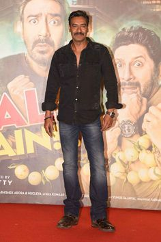 Ajay Devgn and Parineeti Chopra at 'Golmaal Again' Trailer Launch Event