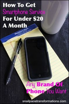 Save money on your smartphone bills and have the cell phone you really want.