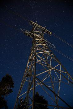 Holga v Digital // The Tram Tower at Jackson Hole Mountain Resort