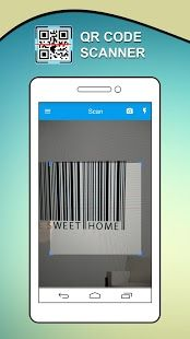Change your smartphone into a powerful QR Code Reader, Barcode scanner, and Data Matrix scanning utility. https://play.google.com/store/apps/details?id=com.barcodescanner.qrcodereader