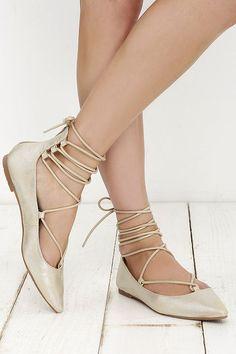 Carvela Loop Leather Tie Up Flat Shoes qoE49P