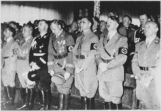 The NAZIS were well dressed murders who wanted to do away with the mentally chanelleged, homosexuals, people of color & Jews. They were all about exterminating those that did not