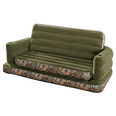 Now in stock Intex Inflatable RealTree Camo Queen Size Pull-Out Sofa Bed