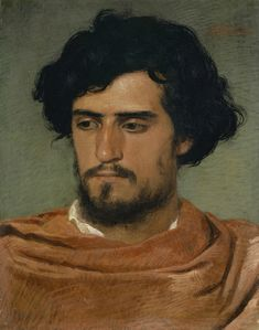 "Arnold Böcklin: ""Head of a Roman"", oil on canvas, Kunstmuseum Basel (Switzerland - Basel), Hans Holbein, Gustav Klimt, Basel, Rotterdam, Kim English, Maurice Denis, Caspar David Friedrich, Academic Art, Reproduction"