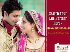 ‪#‎Marriages‬ are sure made in heaven but are carried out on earth & for that purpose Royalmatrimonial is here to help you - http://royalmatrimonial.com