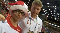 z MACIEJEM GĘBALĄ - kołowym reprezentacji Polski. Na meczu podczas turnieju kwalifikacyjnego do IO Rio 2016 POLSKA 25-20 MACEDONIA