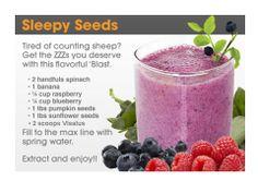 ~Bullet~ www.MyVi.net/LoveTheNewYou1  #Sleep #Insomnia #Anxiety #PumpkinSeed #Blueberry #RAspberry #Shake #Smoothie #Diet #Healthy #Visalus #Project10Challenge #Weightloss #Nutrition