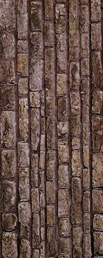 Les imprimables de Miniaturama : Texture : mur en pierres plates brun-gris
