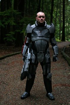 Mass Effect N7 Armor by Foxxtech on Etsy, Maybe a little overpriced, but way cool.