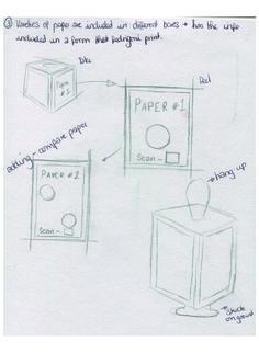 Aesthetic Paper trail idea.