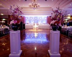 Wedding reception entrance #featurearrangement #wedding #sydney #flowers