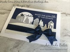 Hearts Come Home & Hometown Greetings Card by Amanda Bates at The Craft Spa in the UK. Independent Stampin' Up! UK Demonstrator, Blogger and Tutorial Publisher with Online Shop 24/7