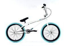 "Colony Premise 20.75"" Complete BMX Bike White/Teal 2017 – Bakerized Action Sports"