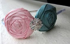 Tutorial on How to Make Fabric Rosette
