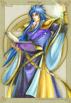 Golden Fantasy-Wizard Saga by uuyly.deviantart.com on @DeviantArt
