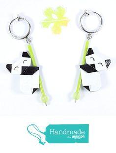 Clips d'oreilles inox pour oreilles non percées - pandas contents en origami à partir des LePaslaid https://www.amazon.fr/dp/B07256KY1K/ref=hnd_sw_r_pi_dp_cIUbzb9NBANYZ #handmadeatamazon
