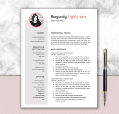 Clean resume template cover letter writing tips minimalist resume template resume with photo cover letter cv template professional resume creative resume resume download cv design yelopaper Images