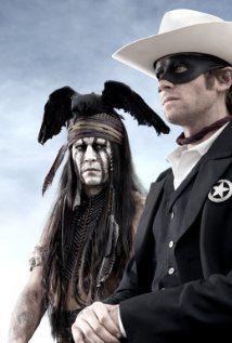 The Lone Ranger Johnnie Depp as Tonto!  Armie Hammer as The Lone Ranger- can't wait till 2013!  LOL