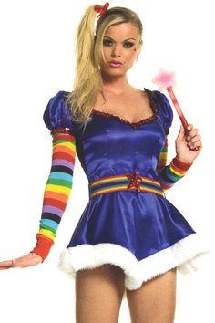 halloween costume rainbow bright