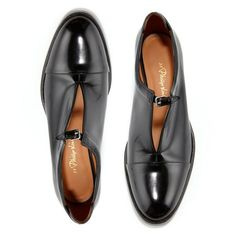 NOVEMBER Menswear influence is the name of the game starting with these 3 1 Phillip Lim loafers # Me Too Shoes, Men's Shoes, Shoe Boots, Dress Shoes, Shoes Men, Dress Clothes, Golf Shoes, Loafer Shoes, Ankle Boots