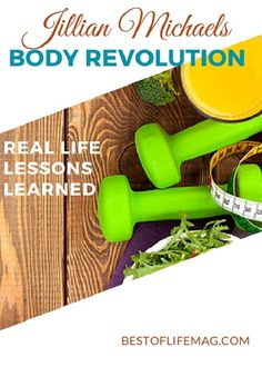 Top 10 Things I Have Learned During Jillian Michaels Body Revolution