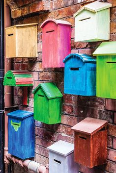 Mailboxes by Francesco Vaninetti on 500px - streets of Tian zi fang in Shanghai