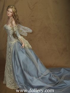 Grace, Blue Ice Fairy Tom Francirek and Andre Oliveira Collectible Dolls