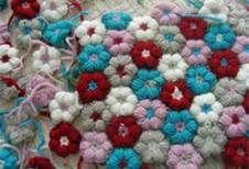 crochet flower baby blanket - Bing Imágenes