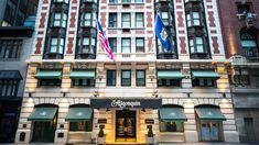 Algonquin Hotel, Living Legends, Haunted Places, Things To Come, New York, Hotels, Table, New York City, Mesas