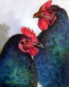 Allan Paterson - The Girls - Watercolor
