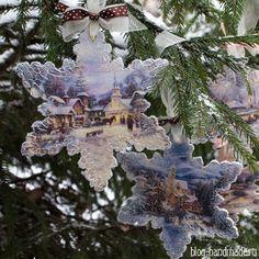 Пошаговый мастер класс как сделать новогодние украшения для елки своими руками