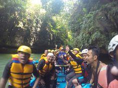 Body rafting green canyon menguji adrenalin