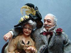 Miniature Dollhouse doll Original MARCIA BACKSTROM
