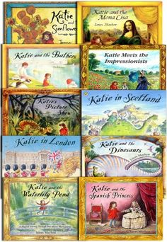 Katie 10 Books Collection by James Mayhew  #Katie #JamesMayhew #ChildrensBook  http://www.snazal.com/katie-10-books-collection-set--james-mayhew--DEALMAN-U11-Mayhew-10bks.html