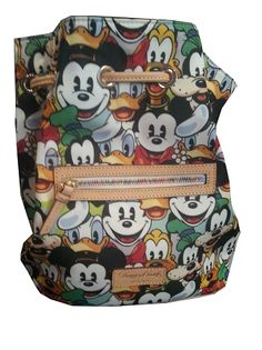 Disney Dooney and Bourke Bag - Mickey Mouse & Friends Faces - Backpack