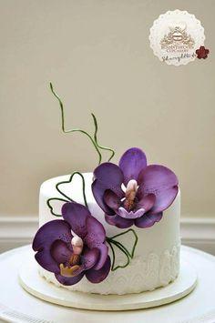 Orquid Cake