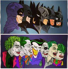 Batmen and Jokers