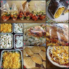 Freezer Cooking Recipe Roundup