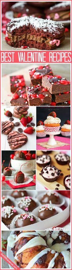 Best Valentine's Day Recipes… So much yumminess! #recipes #valentines