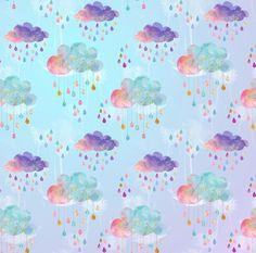 Image of Magic Rain Clouds - Backdrop