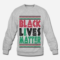 "10% OFF Ends 10-12! Black Lives Matter, I Matter ""Ugly Christmas"" style Sweatshirt and Tees. #gift #protest #justice"