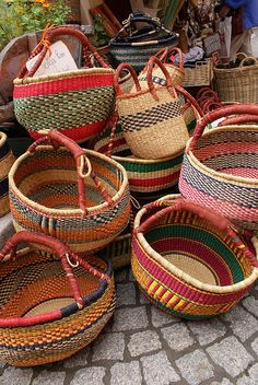 French Baskets for Sale Briancon by squidney, via Flickr
