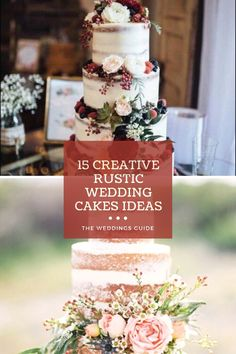 Pretty Wedding Cakes, Amazing Wedding Cakes, Wedding Cake Rustic, Wedding Venues, Wedding Ideas, Table Decorations, Nice, Creative, Food