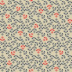 Anchors Away fabric by mag-o on Spoonflower - custom fabric